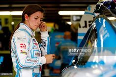 News Photo : Danica Patrick, driver of the Nature's Bakery...