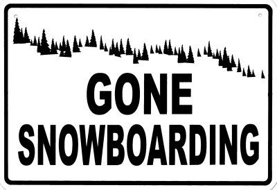 Gone Snowboarding.... countdown to snow!