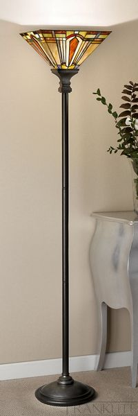 14 best tiffany lights images on pinterest tiffany glass franklite sl211t133 charleston bronze floor lamp with tiffany shade aloadofball Images