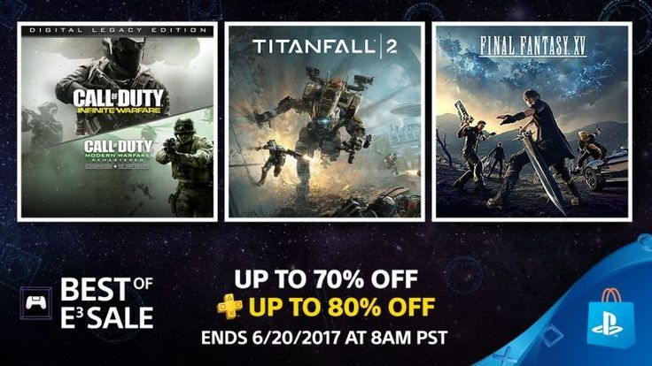 E3 2017: PSN Best Of E3 Sale Begins Lots Of PS4 Games On Sale