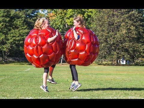 Finally, your chance to become a giant bouncing raspberry.