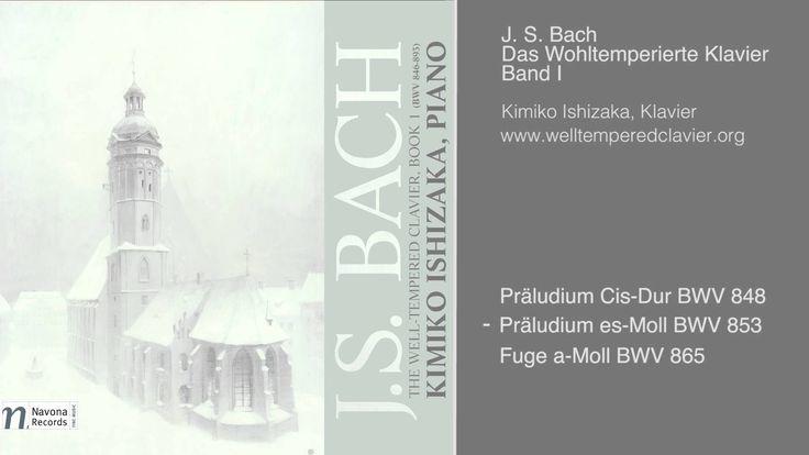 Das Wohltemperierte Klavier, Band I, Kimiko Ishizaka