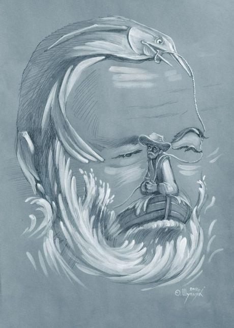Painter nuncalosabre.El Optical Illusions - Oleg Shuplyak