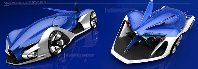 Han,Lee: Bugatti type100p concept / Hanlee2015