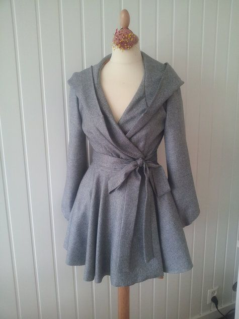 Fall coat made from McCalls pattern M6442