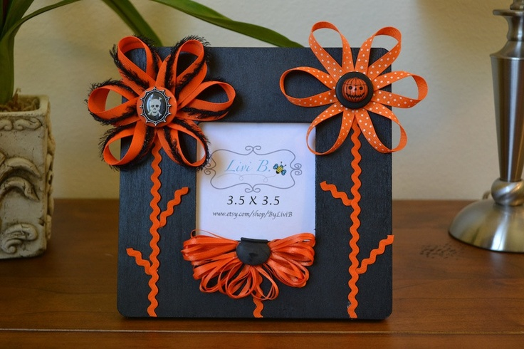 Cute Halloween Picture Frame