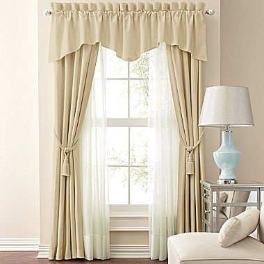 Jcp Home Supreme Antique Satin Pinch Pleat Drapery Panel