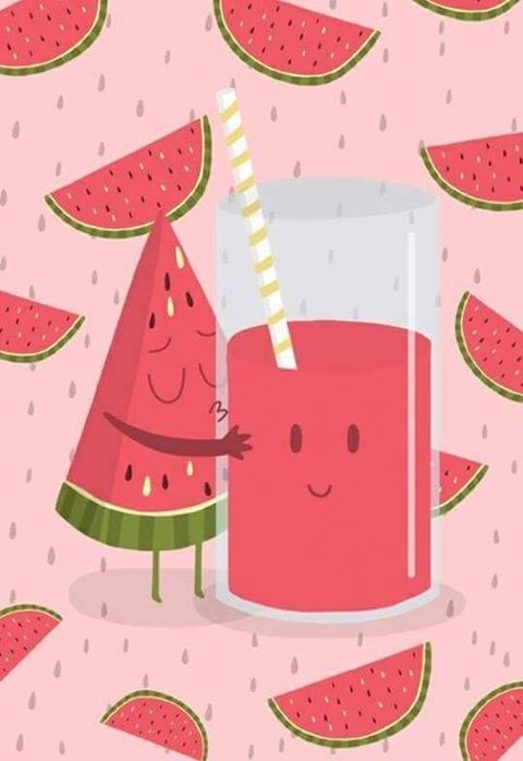 Suco de melancia/Juice the whatermalllow