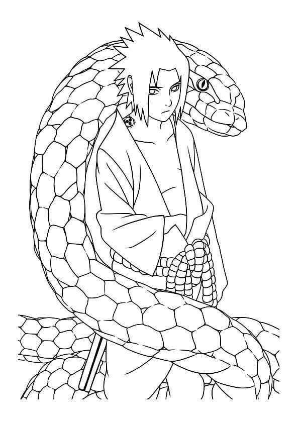 Naruto Coloring Sheets Sasuke Uchiha Naruto Drawings Pokemon Coloring Pages Drawings