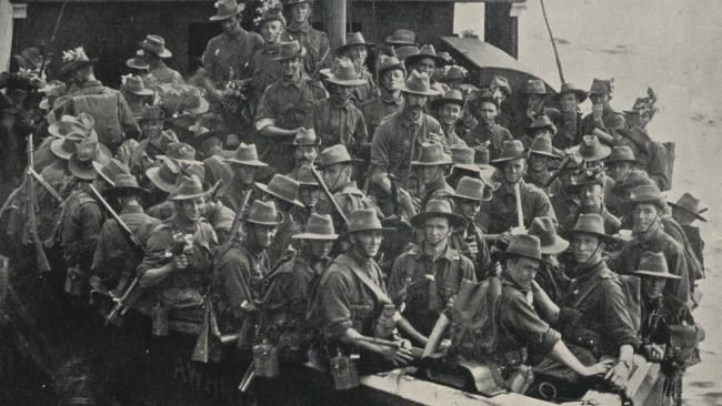 The day our Anzacs set sail for war