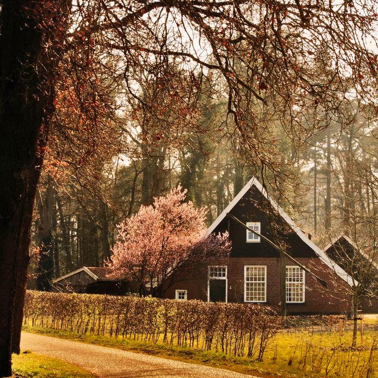 Haaksbergen, an old Dutch farmhouse located in Twente