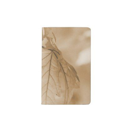 Autumn Leaves Pocket Moleskine Notebook - autumn gifts ...