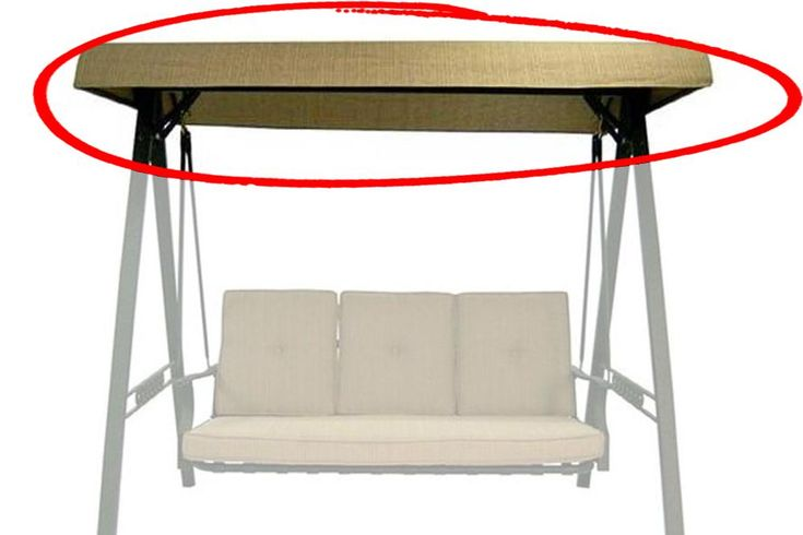 North Haven Swing Canopy Fabric + Frame