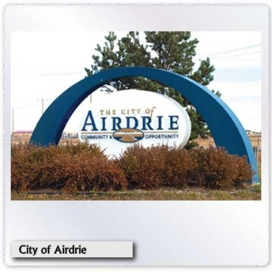 City of Airdrie Sign