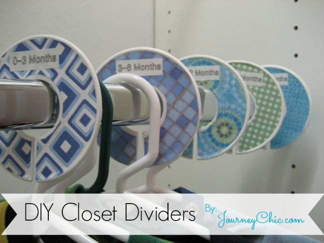 DIY Closet Divider Tutorial - My MOST POPULAR post by a mile! Referenced on Buzzfeed and loads of other sites. Organize your closets this weekend! #closetorganization