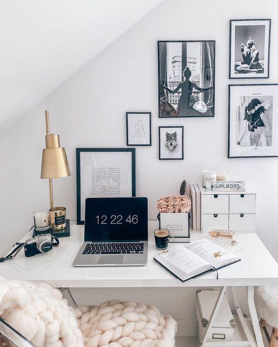 17 Stilvolle Home Office-Deko-Ideen zum Ausprobier…