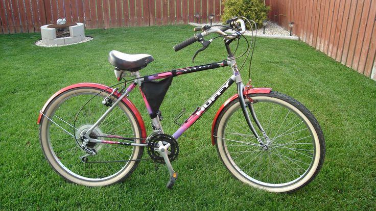 Huffy Strata mtn bike/cruiser conversion.