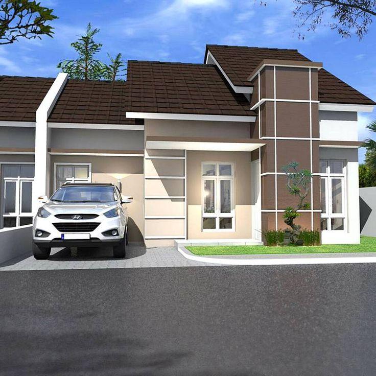 Model Rumah Minimalis Sederhana Dengan Taman Rumah Minimalis