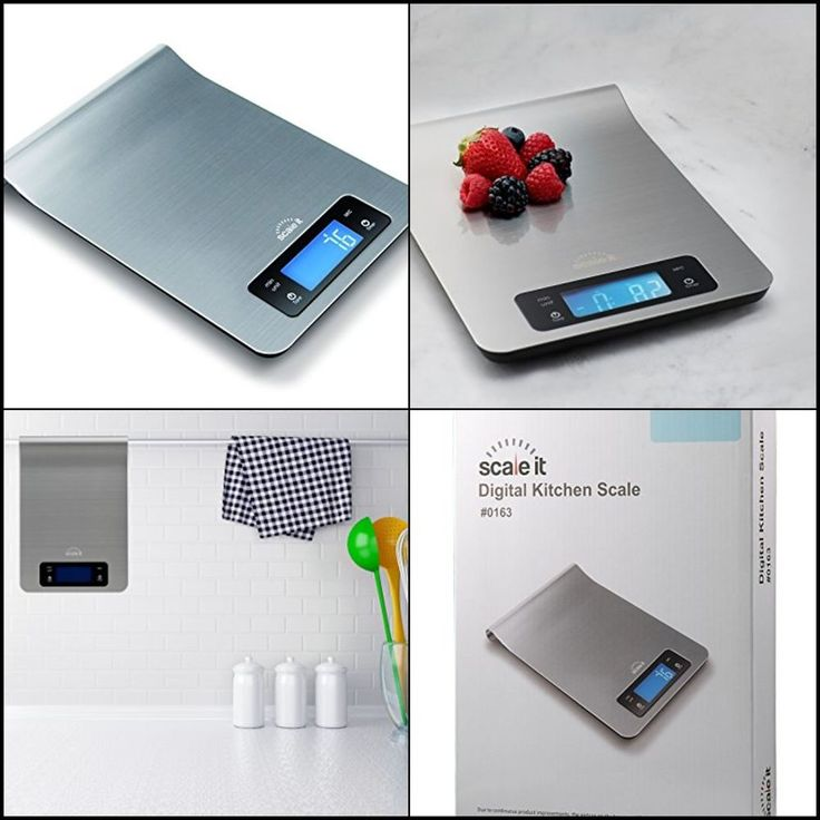 Small Digital Kitchen Food Scale Weight Watchers Diet Electronic Lcd 5kg/11 lbs #Scaleit