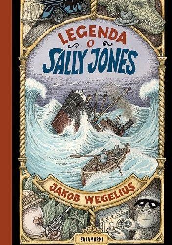 Okładka książki Legenda o Sally Jones