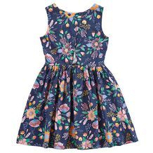 Floral Cross Back Dress