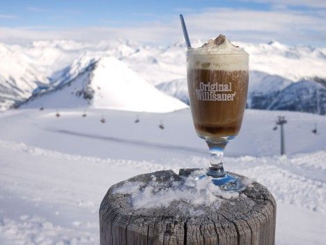 Pflümli, a traditional plum schnapps & coffee drink in the Swiss Alps ...
