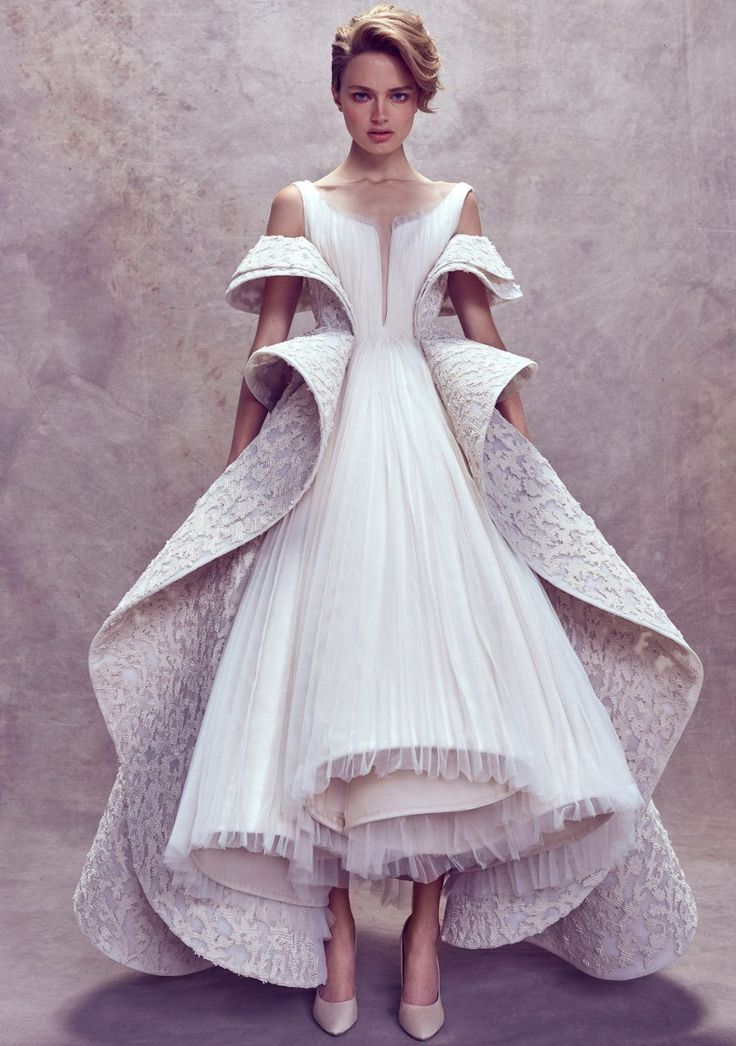 Ashi Studio Fall 2017 Haute` Couture Collection This dress is breaking barriers in glamorous and galactic ways. Unfold your possibilities.