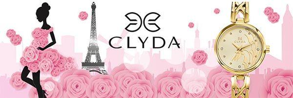 Французский бренд Clyda: часы и бижутерия  Подробнее: http://okidoki.kiev.ua/brendy/chasy/clyda/ #clyda #watches #часы