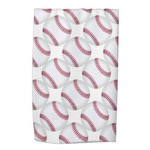Sports and Games Baseball Man Cave Wet Bar Towel
