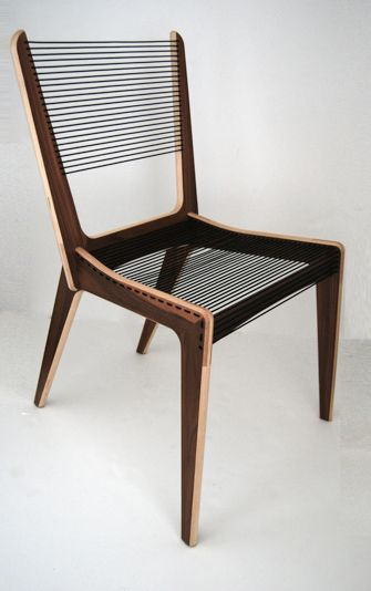 "JACQUES GUILLON ""ROPE CHAIR"""