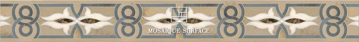Check out this tile from Mosaique Surface in http://www.mosaiquesurface.com/tile/baronnet-border