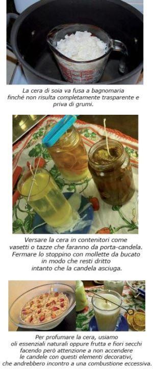 Crea le candele in cera naturale di soia - Grazia Cacciola