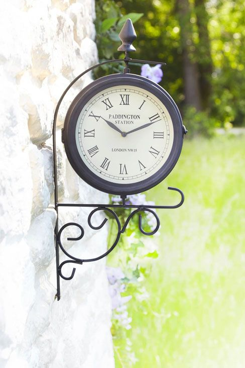 Indoor/Outdoor Clock. Follow the link for further details/to purchase. http://www.klife.co.uk/distributors/91293/Eve-Ellwood?returnUrl=/klifeshop/home/garden-outdoor/indoor-outdoor-clock/