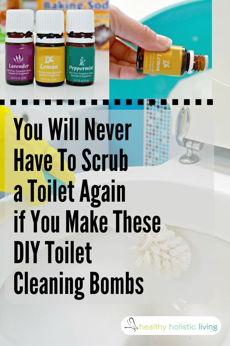 Drop This in Your Toilet to Kill Bacteria and Eliminate Odors – NO Scrubbing Required