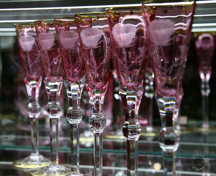 Rózsaszín poharak