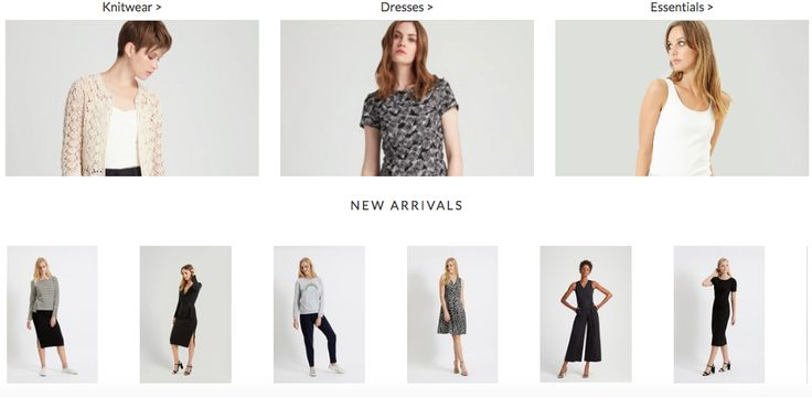 People Tree ethical collection sustainable clothing