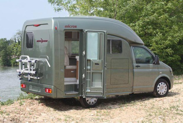 Wingamm Micros Vw Motorhome In An Italian Way Camprest Com Vw Motorhome Minivan Camper Conversion Motorhome