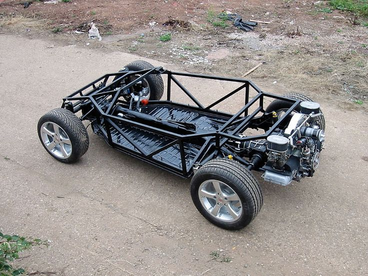 Street-Legal Dune Buggy | Shortening the chassis by 400mm and rerouting brake pipes and petrol ...