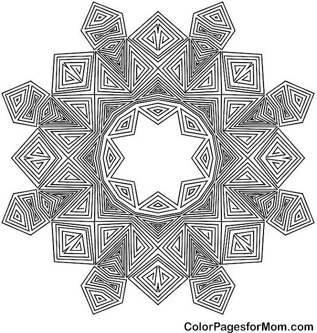 adult mandala coloring page for stress relief mandala coloring page 46 art pinterest. Black Bedroom Furniture Sets. Home Design Ideas