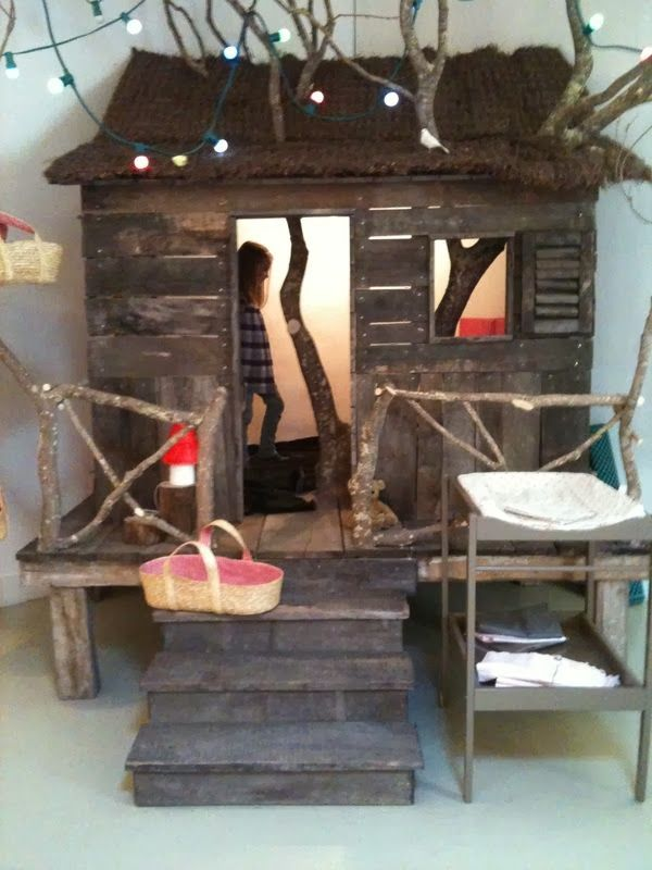 Top 25 best tree house beds ideas on pinterest beauty for Treehouse kids room
