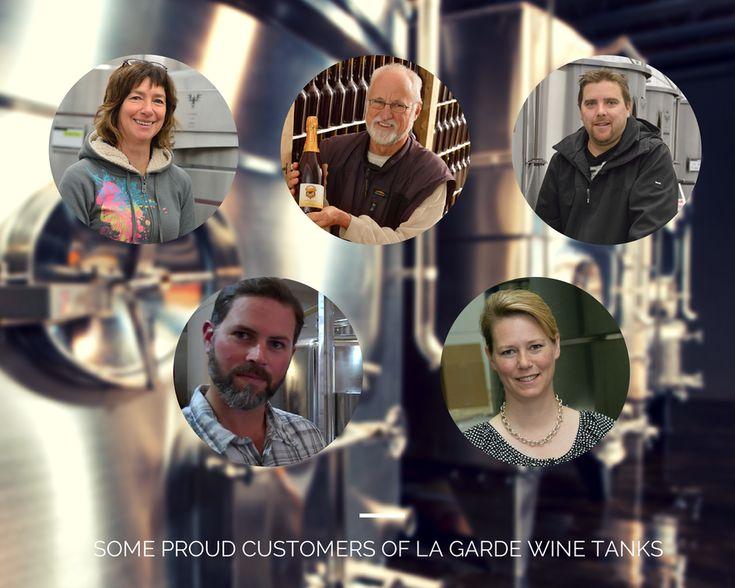 Testimonials of proud customers of @LaGardeInox