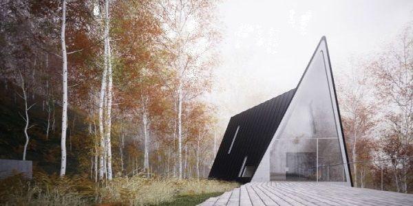 Triangular Home Design Found in the U.S.
