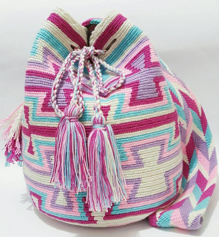 Wayuu Bag-Pastel Tribe - Alynshop