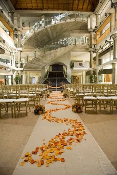 Say I Do At This Luxurious Atrium In Orange County