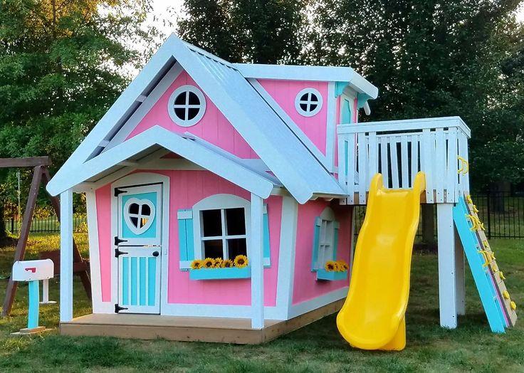Playhouse big backyard playhouse big backyard tiny for Big kid playhouse
