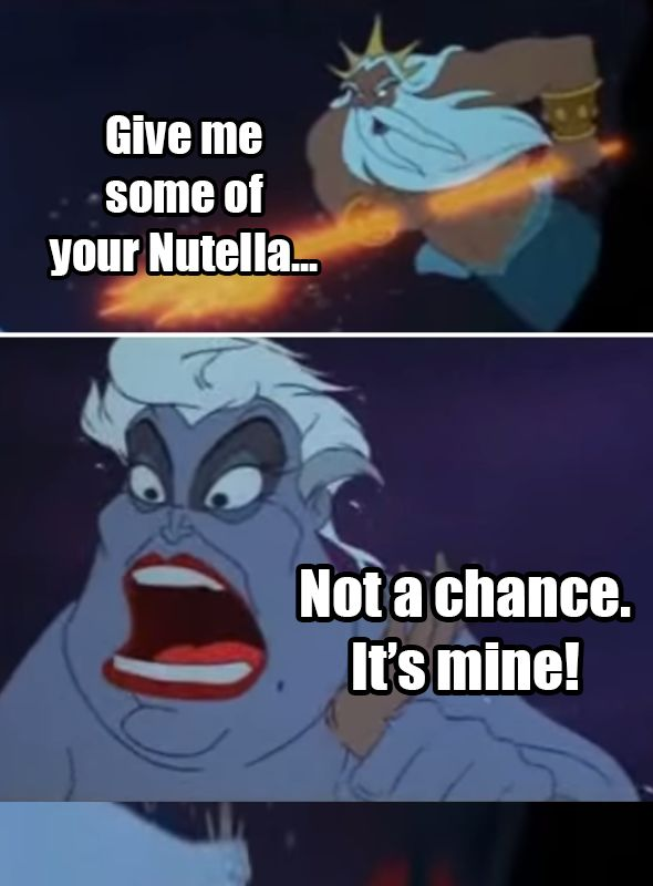 17 Disney Nutella Memes Guaranteed To Make You Laugh Out