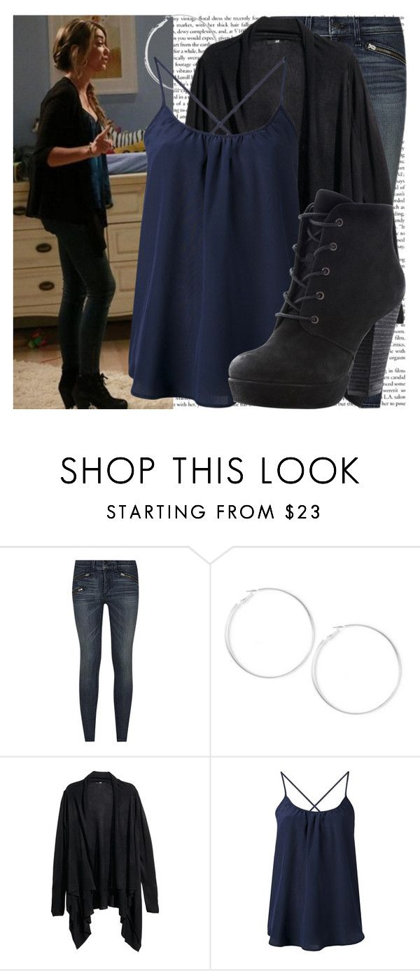 sarah hyland as haley dunphy on 'modern family' set by cla-90 on Polyvore featuring Amour Vert, H&M, rag & bone, Steve Madden, Episode and modern