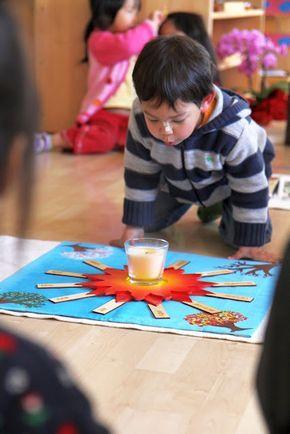 The Earth Goes Around The Sun...Montessori celebration
