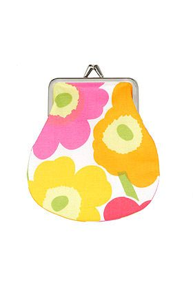 Marimekko Mini-Unikko small coin purse