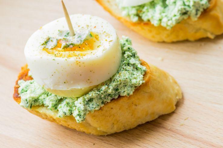 tvarohová brokolicová pomazánka #pomazánka #tvaroh #brokolice